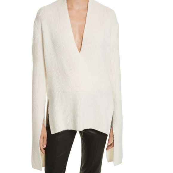 A.L.C. Sweaters - ALC Arlin Sweater V-neck Slit Sleeve